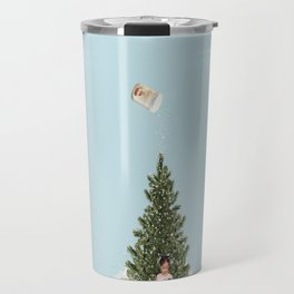 Minimal christmas Travel Mug