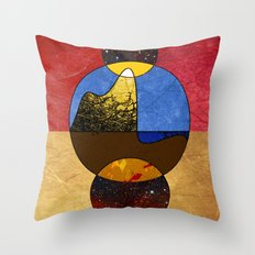 Abstract #117 Throw Pillow