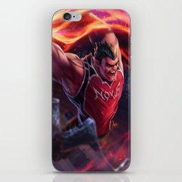 Dunkmaster Darius League Of Legends iPhone Skin