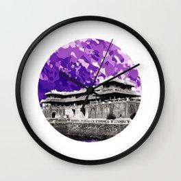 Vietnam Hue Citadel Ngo Mon Gate Wall Clock