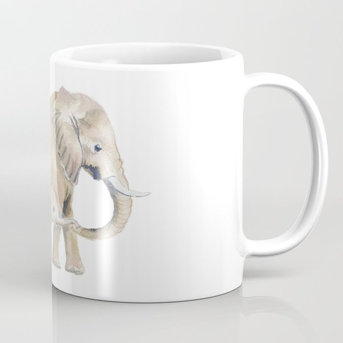 Mom and Baby Elephant 2 Coffee Mug