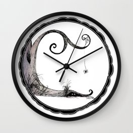 'Think I'll just stay in today' - Familiar and Friend Wall Clock