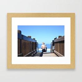 GROOVIN Framed Art Print