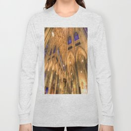 St Patrick's Cathedral New York Long Sleeve T-shirt