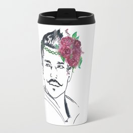 Dorian Flower Crown Travel Mug