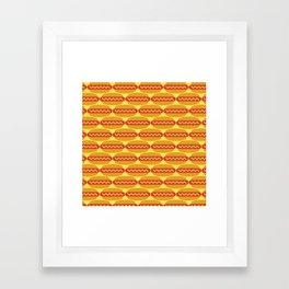 Hot Diggity Dog Framed Art Print