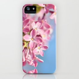 Lilac pink 039 iPhone Case