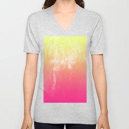 Flaming Forest Unisex V-Neck