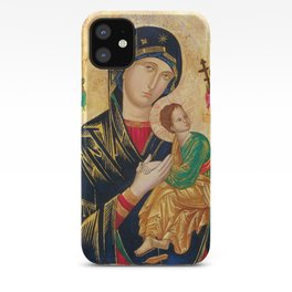 Our Mother of Perpetual Help Virgin Mary iPhone Case