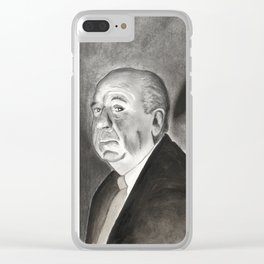 Hitchcock Clear iPhone Case