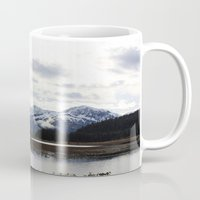 alaska Mugs featuring Alaska by Chris Root