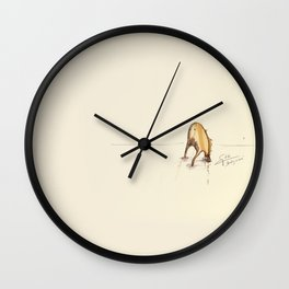 #coffeemonsters 66 Wall Clock