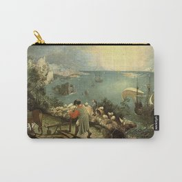 Landscape with the Fall of Icarus - Pieter Bruegel Carry-All Pouch