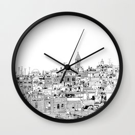 Little Jerusalem Wall Clock