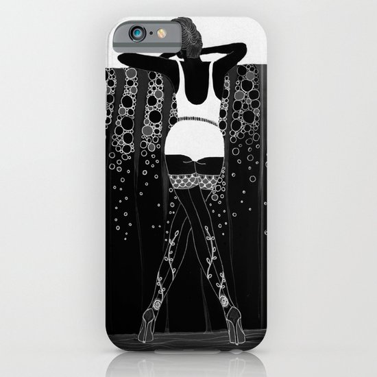 Comment Ca Va? - black&white iPhone & iPod Case