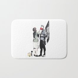 Banksy, Punk with mother Bath Mat