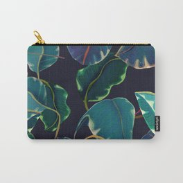 tropical leaves in the nigth Carry-All Pouch