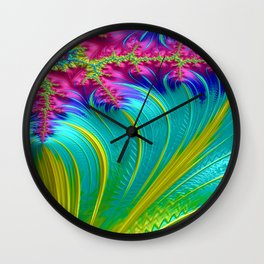 Wings of Courage 5 Wall Clock