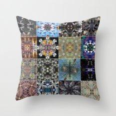 16 mandala Throw Pillow