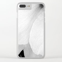 Flower | Flowers | White Petals | Macro Nature Clear iPhone Case