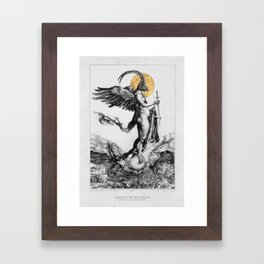 notre dame des oubliés - our lady of the forgotten Framed Art Print