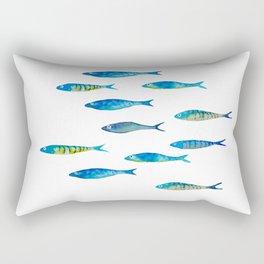 tropical minnows Rectangular Pillow