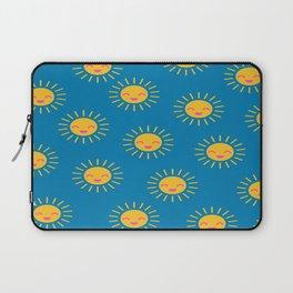 Little Sunshine (blue) Laptop Sleeve