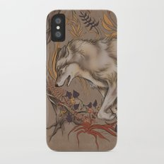 mortem autem lupus iPhone X Slim Case