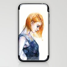heliotropic girl iPhone & iPod Skin