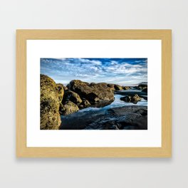 Tidal Pools Framed Art Print