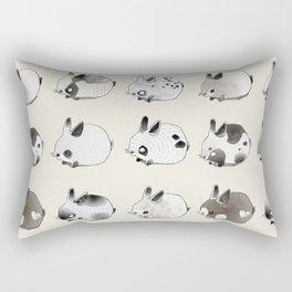 Little Bunnies Rectangular Pillow