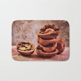 Walnuts Bath Mat