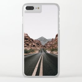 Road Trip / Valley of Fire Clear iPhone Case