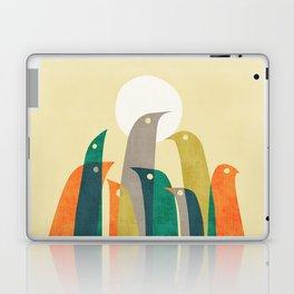 Wild birds at the beach Laptop & iPad Skin
