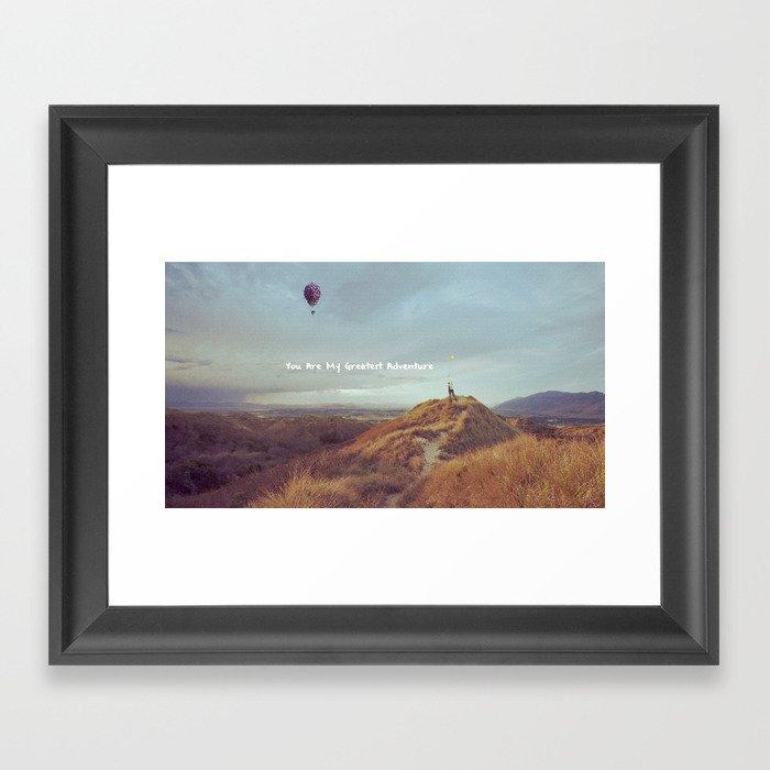 Waltz for Ellie Framed Art Print
