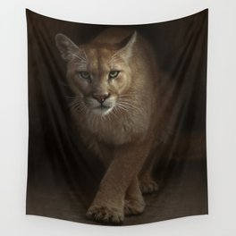 Cougar - Emergence Wall Tapestry