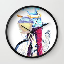 Turista II Wall Clock
