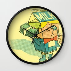 Spoiled Milk Wall Clock
