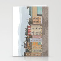 cityscape Stationery Cards featuring Cityscape by Paint Your Idea