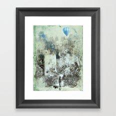 little explorers Framed Art Print