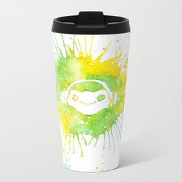 Let's break it down! Metal Travel Mug