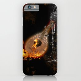 Music, lute iPhone Case