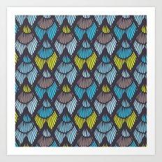 Lapices-Cool Art Print
