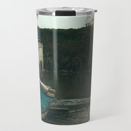 Resting boat (color) Travel Mug
