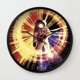 Too Much Space Out There. Wall Clock