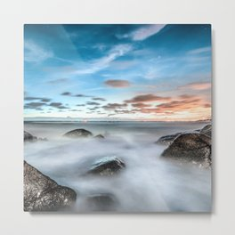Above the mountines Metal Print