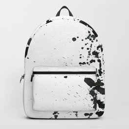 Giraffe ink splatter Backpack