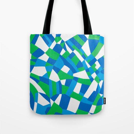 London Green Tote Bag