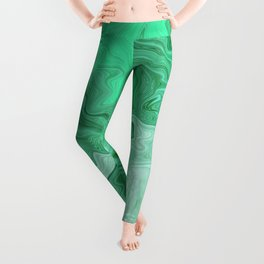 Sea of Malachite Leggings