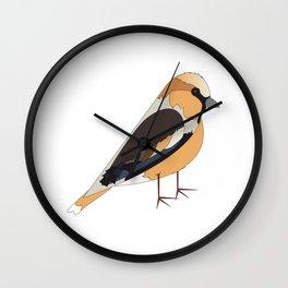 Hawfinch Wall Clock